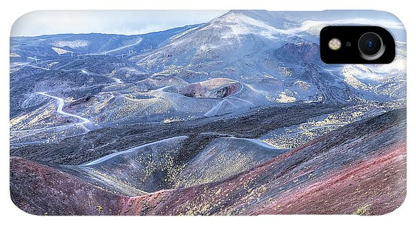 Etna iPhone XR Case - Etna - Sicily by Joana Kruse