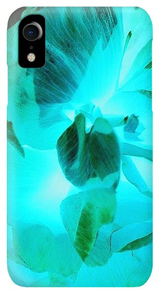 iPhone XR Case - A Bloom In Turquoise by Orphelia Aristal