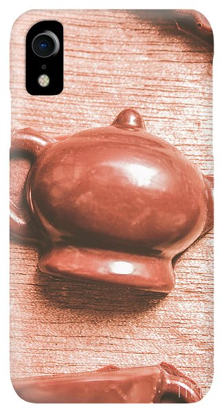 Kettles iPhone XR Case - After Tea Confection by Jorgo Photography - Wall Art Gallery