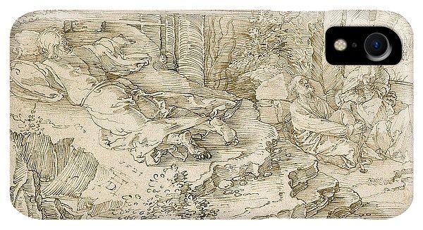 Albrecht Durer iPhone XR Case - Agony In The Garden by Albrecht Durer