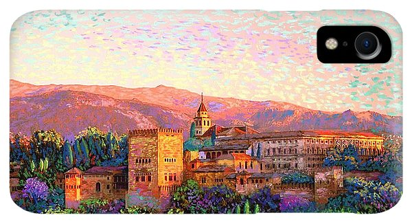 Violet iPhone XR Case - Alhambra, Granada, Spain by Jane Small