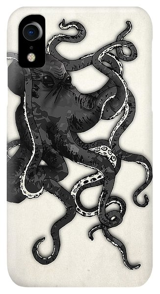 iPhone XR Case - Octopus by Nicklas Gustafsson