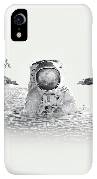 Space iPhone XR Case - Astronaut by Fran Rodriguez