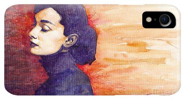 iPhone XR Case - Audrey Hepburn 1 by Yuriy Shevchuk