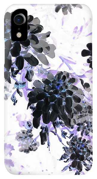 iPhone XR Case - Black Blooms I by Orphelia Aristal