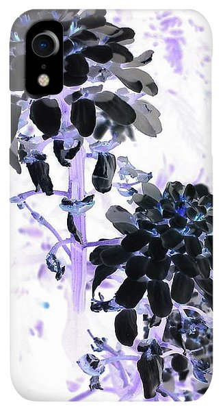 iPhone XR Case - Black Blooms I I by Orphelia Aristal