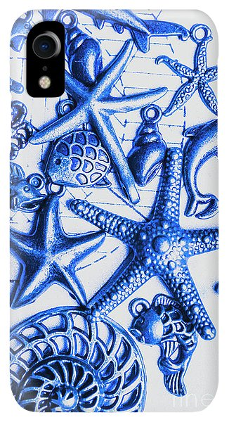 Scuba Diving iPhone XR Case - Blue Reef Abstract by Jorgo Photography - Wall Art Gallery