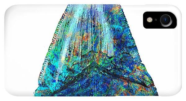 Scuba Diving iPhone XR Case - Blue Shark Tooth Art By Sharon Cummings by Sharon Cummings