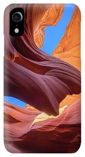 Flow iPhone XR Case - Breeze Of Sandstone by Edgars Erglis