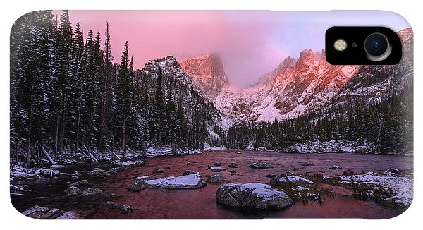 Rocky Mountain iPhone XR Case - Chill by Chad Dutson