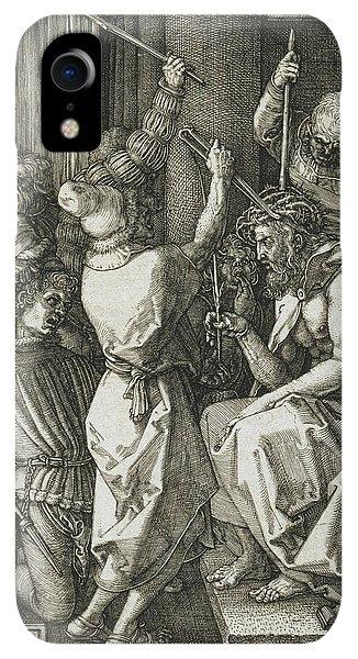 Albrecht Durer iPhone XR Case - Christ Crowned With Thorns by Albrecht Durer