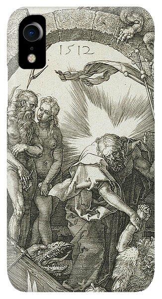 Albrecht Durer iPhone XR Case - Christ In Limbo by Albrecht Durer