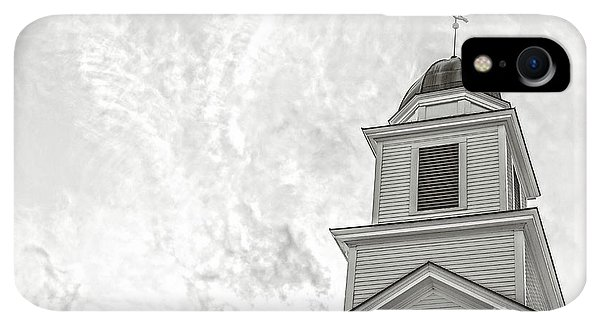 Etna iPhone XR Case - Classic New England Church Etna New Hampshire by Edward Fielding