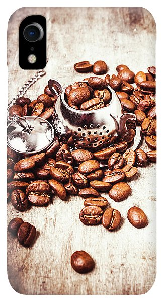 Kettles iPhone XR Case - Coffee Break At The Tea House by Jorgo Photography - Wall Art Gallery