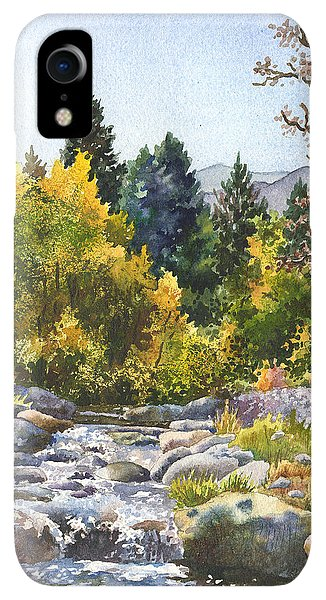 Rocky Mountain iPhone XR Case - Creek At Caribou by Anne Gifford