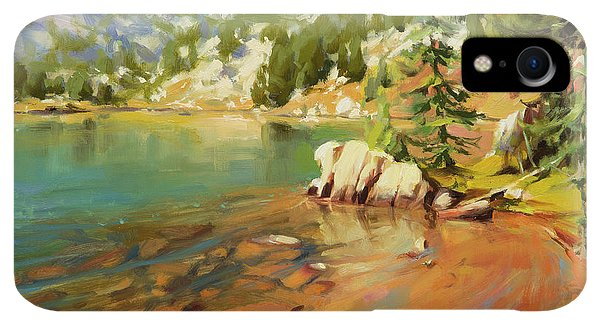 Rocky Mountain iPhone XR Case - Crystalline Waters by Steve Henderson
