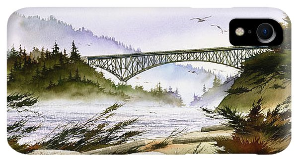 Whidbey iPhone XR Case - Deception Pass Bridge by James Williamson