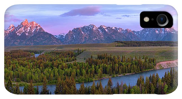 Rocky Mountain iPhone XR Case - Grand Tetons by Chad Dutson