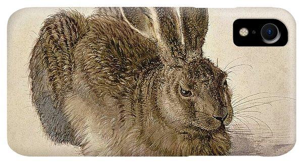 Albrecht Durer iPhone XR Case - Hare by Albrecht Durer
