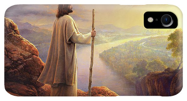 Rocky Mountain iPhone XR Case - Hope On The Horizon by Greg Olsen