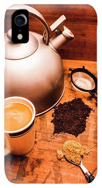 Kettles iPhone XR Case - Hot Drink Details. Tea Print by Jorgo Photography - Wall Art Gallery