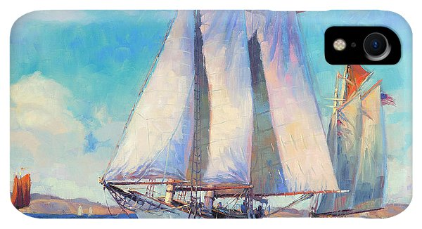 Whidbey iPhone XR Case - Just Breezin' by Steve Henderson