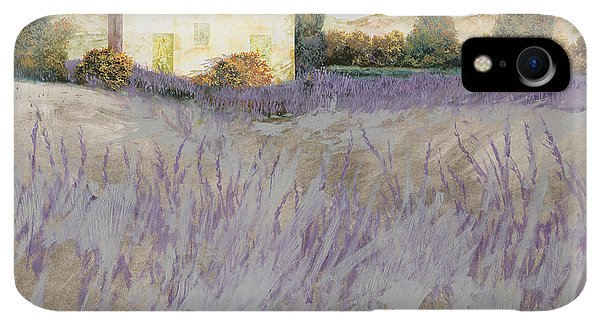 Violet iPhone XR Case - Lavender by Guido Borelli