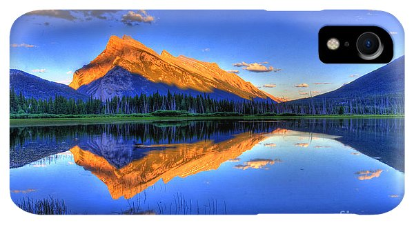 Rocky Mountain iPhone XR Case - Life's Reflections by Scott Mahon