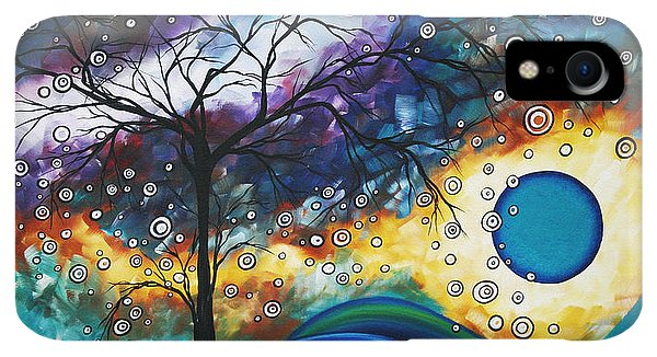 Violet iPhone XR Case - Love And Laughter By Madart by Megan Duncanson