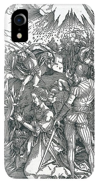 Albrecht Durer iPhone XR Case - Martyrdom Of Saint Catherine by Albrecht Durer