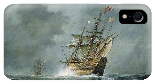 Boats iPhone XR Case - Mary Rose  by Richard Willis