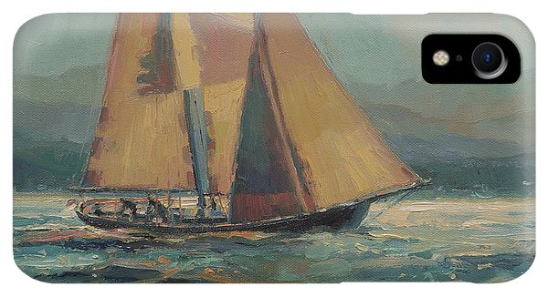 Whidbey iPhone XR Case - Moonlight Sail by Steve Henderson