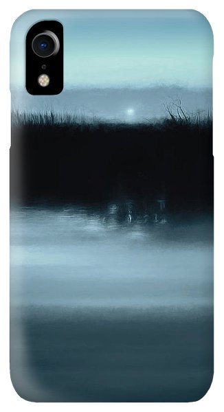 Kettles iPhone XR Case - Moonrise On The Water by Scott Norris