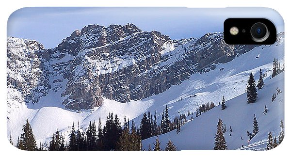 Rocky Mountain iPhone XR Case - Mountain High - Salt Lake Ut by Christine Till