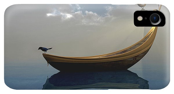 Boats iPhone XR Case - Narcissism by Cynthia Decker