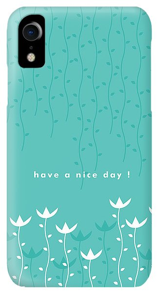Print iPhone XR Case - Nice Day by Kathleen Wong