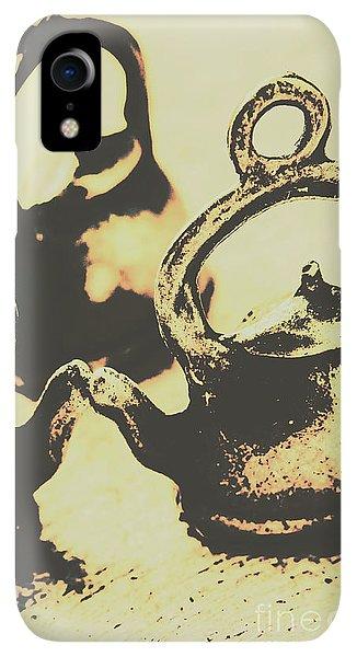 Kettles iPhone XR Case - Nostalgic Tea Break by Jorgo Photography - Wall Art Gallery
