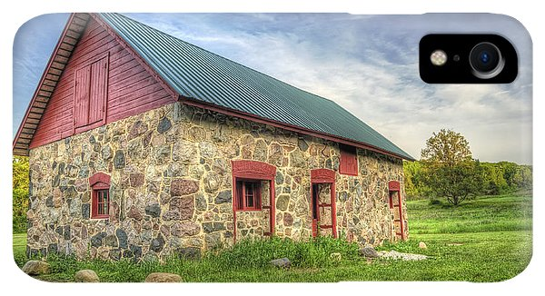 Kettles iPhone XR Case - Old Barn At Dusk by Scott Norris