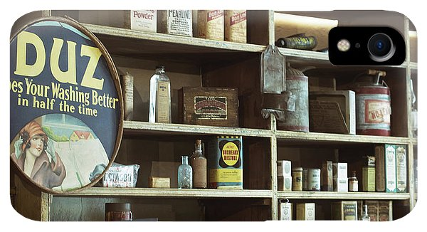 Roxbury iPhone XR Case - Old Country Store Shelves by Mark Miller