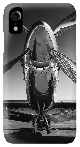 iPhone XR Case - P-51 Mustang by John Hamlon