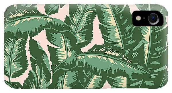 Print iPhone XR Case - Palm Print by Lauren Amelia Hughes