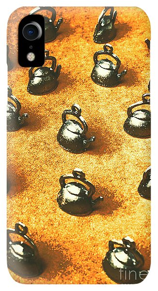 Kettles iPhone XR Case - Past Tea Time by Jorgo Photography - Wall Art Gallery
