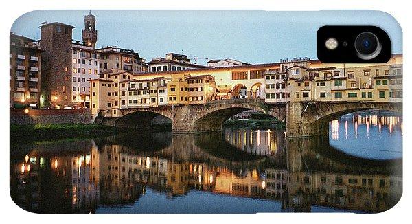 Dick Goodman iPhone XR Case - Ponte Vecchio by Dick Goodman