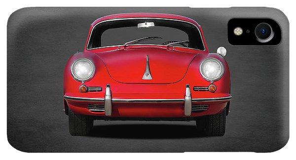 iPhone XR Case - Porsche 356 by Mark Rogan