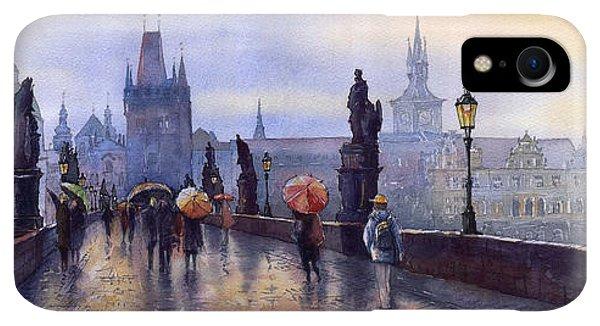 iPhone XR Case - Prague Charles Bridge by Yuriy Shevchuk