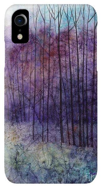 Violet iPhone XR Case - Purple Haze by Hailey E Herrera