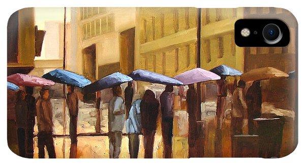 iPhone XR Case - Rain In Manhattan Number Seventeen by Tate Hamilton