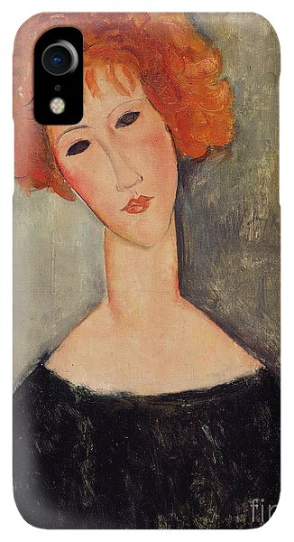 20th iPhone XR Case - Red Head by Amedeo Modigliani