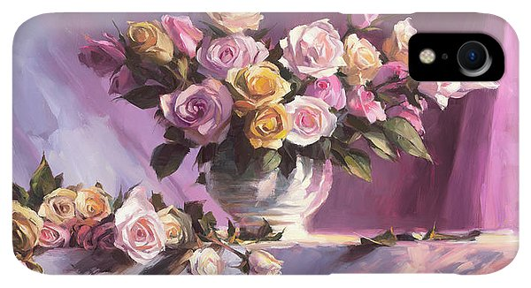 Violet iPhone XR Case - Rhapsody Of Roses by Steve Henderson