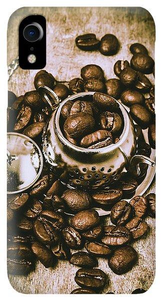 Kettles iPhone XR Case - Rustic Teapot Art by Jorgo Photography - Wall Art Gallery